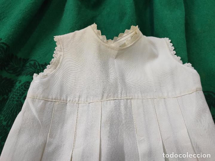 Antigüedades: Antiguo vestido de niño - Foto 3 - 199846453
