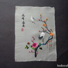 Oggetti Antichi: BORDADO JAPONES EN SEDA. Lote 199859416