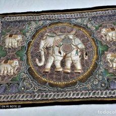 Antigüedades: TAPIZ ASIÁTICO . Lote 199880606