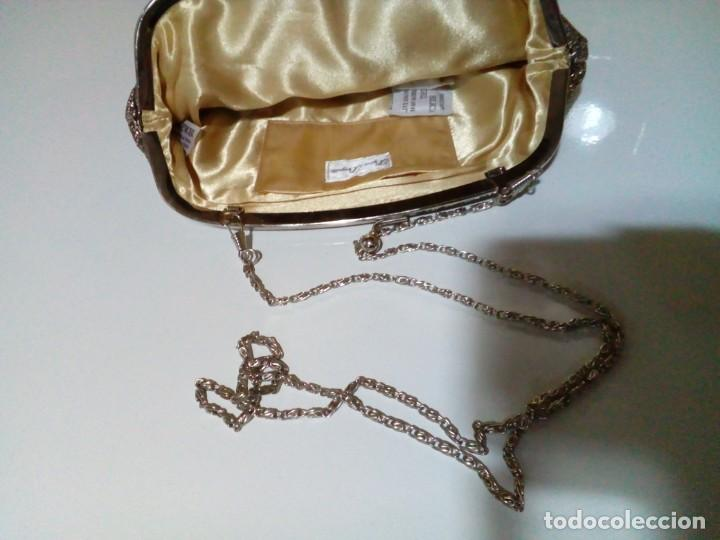 Antigüedades: bonito bolso cartera de mano - Foto 5 - 199890795