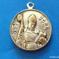 Antigüedades: MEDALLA ANTIGUA. VIRGEN. CENTENARIO. 1854 - 1954 PLATEADA. 2 CM DE DIÁMETRO.. Lote 199894293