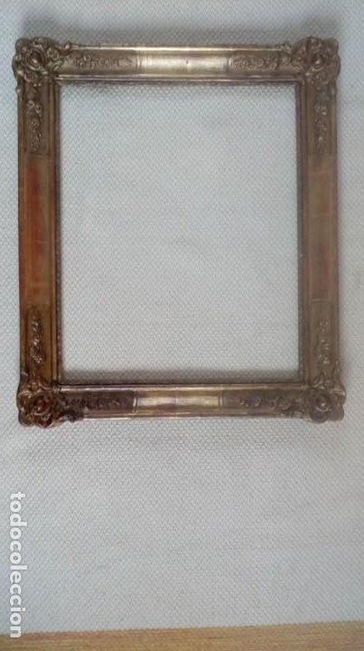 MARCO ISABELINO. S.XIX. (Antigüedades - Hogar y Decoración - Marcos Antiguos)