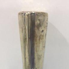Antigüedades: ORIGINAL BASTÓN FRANCÉS DEL SIGLO XIX EN PLATA. Lote 199912722