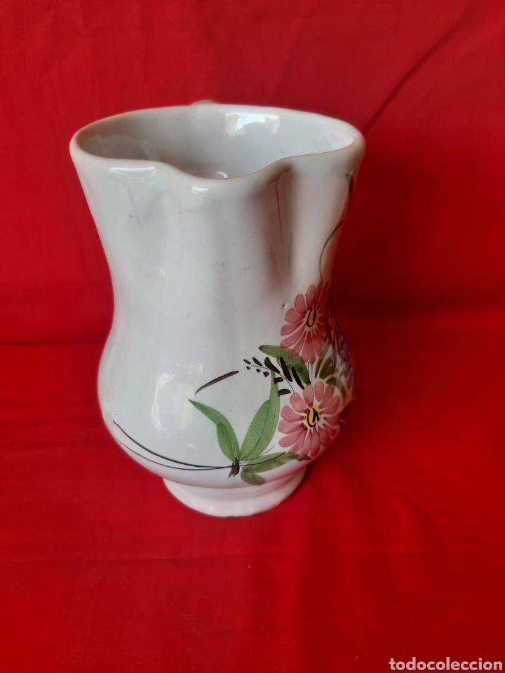 Antigüedades: Jarra en cerámica de Lario Lorca Murcia altura 19 cm - Foto 2 - 199916168