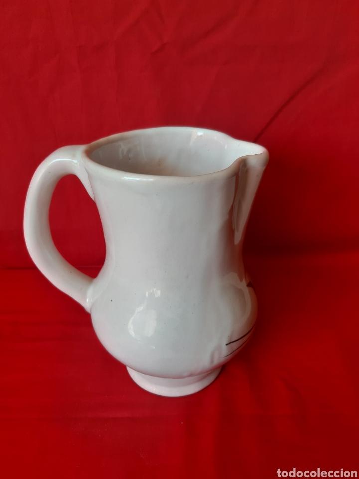 Antigüedades: Jarra en cerámica de Lario Lorca Murcia altura 19 cm - Foto 3 - 199916168