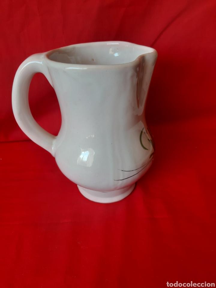 Antigüedades: Jarra en cerámica de la marca Lario de Lorca Murcia altura 19cm - Foto 3 - 199917348