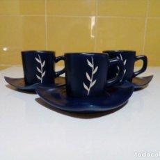 Antigüedades: TRES TAZAS DE CAFE MUY BONITAS. Lote 199919300