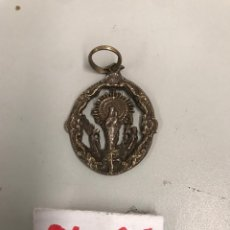 Antigüedades: MEDALLA RELIGIOSA PLATA. Lote 199946835