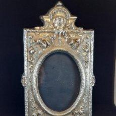 Antigüedades: MARCO DE FOTOS. PLATA. LONDRES. SIGLO XX. . Lote 199965335