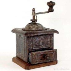 Antigüedades: MOLINILLO ELMA RESTAURADO POSGUERRA ESPAÑOLA. LEER. Lote 200009608
