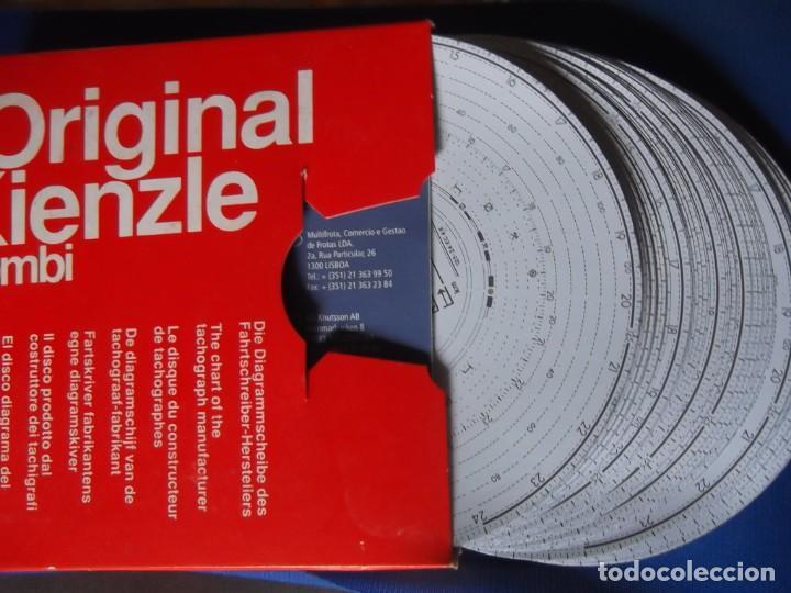 Antigüedades: 200 discos nuevos de tacografo para Conductores de camiones - Foto 3 - 200030311