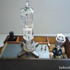Antigüedades: ANTIGUO APARATO MEDICO MEDIR AIRE . Lote 200056426