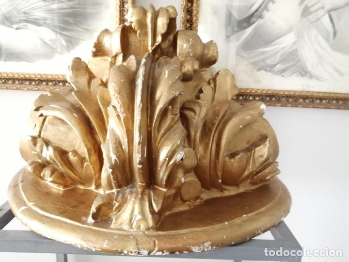 Antigüedades: Mensula dorada - Foto 2 - 200132117