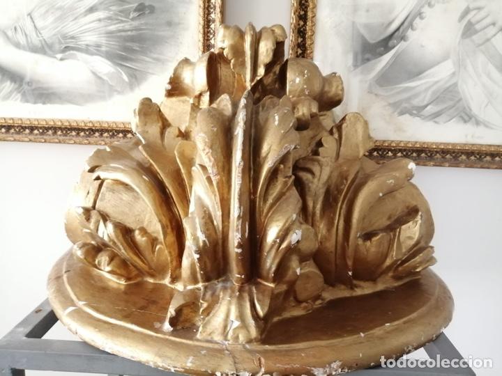 MENSULA DORADA (Antigüedades - Muebles Antiguos - Ménsulas Antiguas)