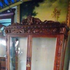 Antigüedades: VITRINA RENACIMIENTO-. Lote 200149801