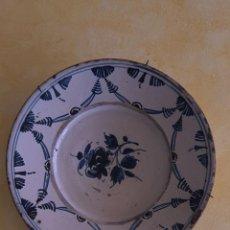 Antigüedades: PLATO CATALÁN - ARRACADA - SG XVIII - 30 CM.. Lote 200157687