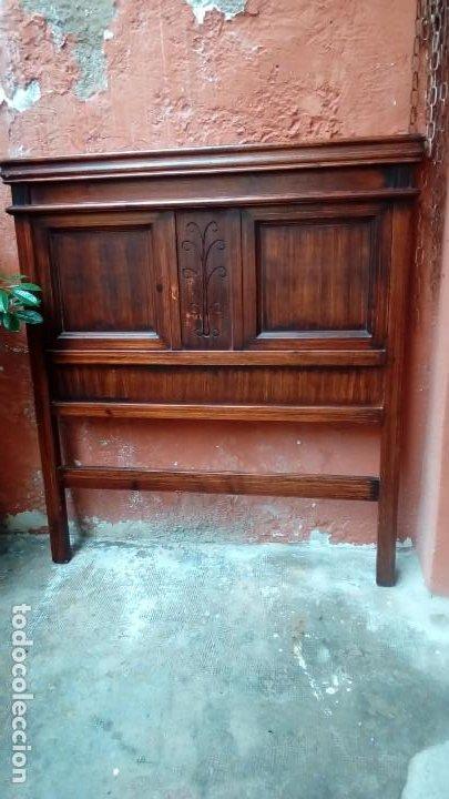 CAMA DE 1 CUERPO- (Antigüedades - Muebles Antiguos - Camas Antiguas)