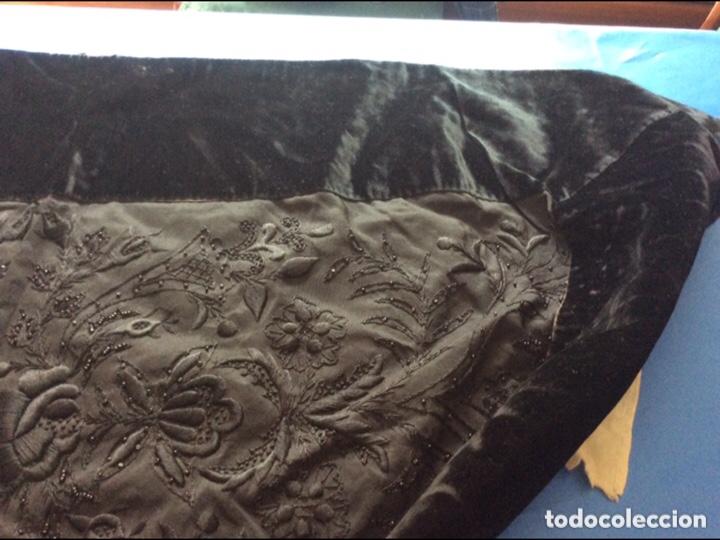 Antigüedades: Regional Mantilla de casco seda de terciopelo - Foto 8 - 200179150