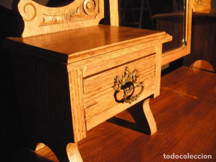 Antigüedades: comoda de roble- - Foto 3 - 200193833