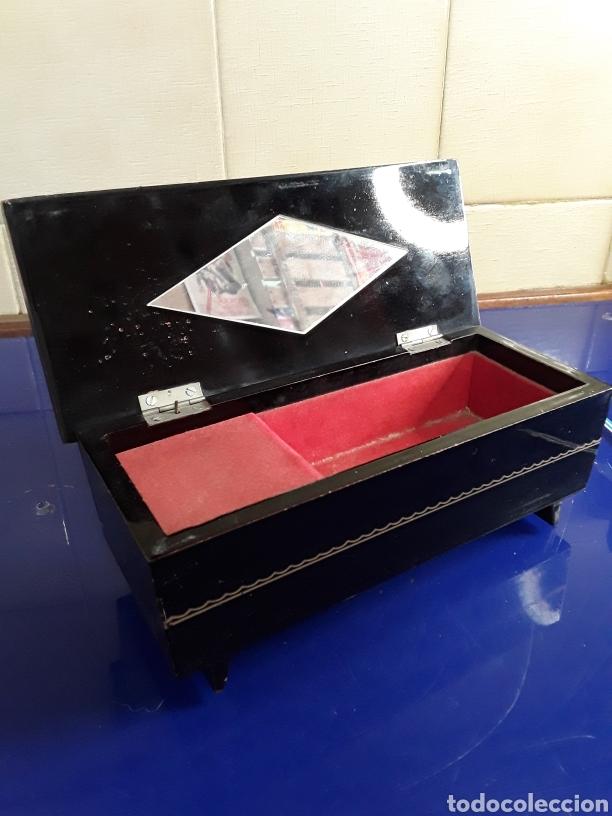 Antigüedades: Caja joyero musical - Foto 2 - 200199218