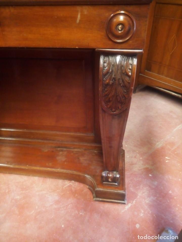 Antigüedades: pareja de consolas clasicas- - Foto 2 - 200240295