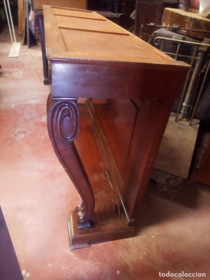 Antigüedades: pareja de consolas clasicas- - Foto 4 - 200240295