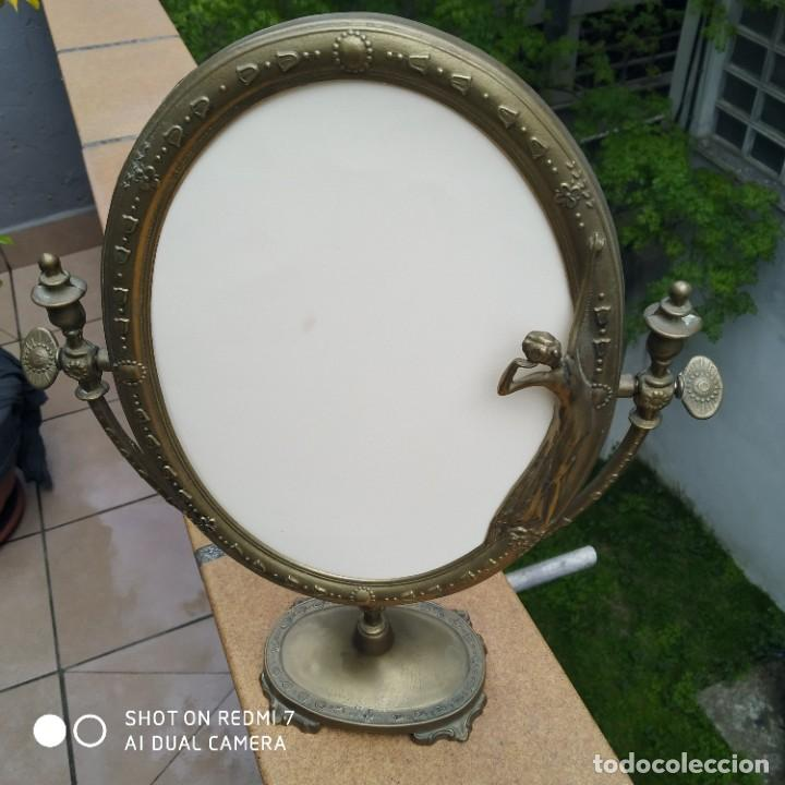 Antigüedades: Espejo bronce SXIX - Foto 2 - 200250070