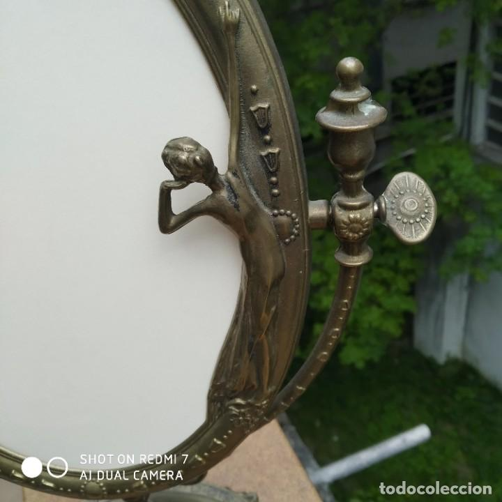 Antigüedades: Espejo bronce SXIX - Foto 3 - 200250070