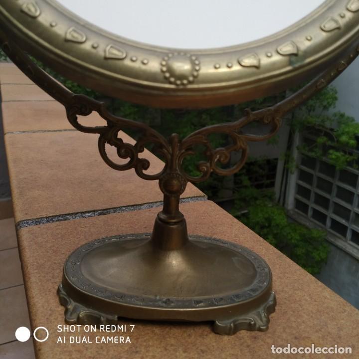 Antigüedades: Espejo bronce SXIX - Foto 4 - 200250070