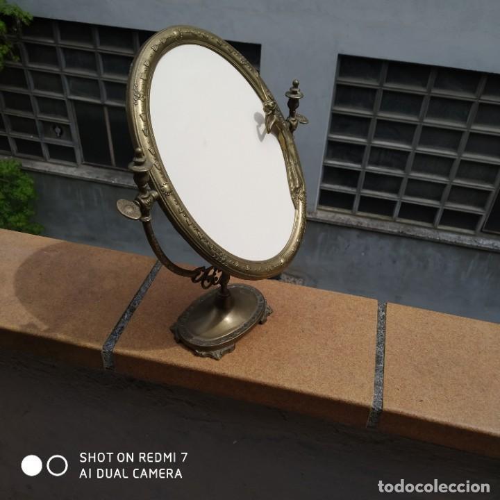 Antigüedades: Espejo bronce SXIX - Foto 5 - 200250070