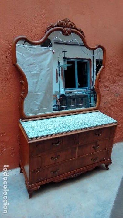 COMODA LUIS XV (Antigüedades - Muebles - Cómodas Antiguas)
