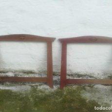 Antigüedades: BONITA PAREJA DE MARCOS MODERNISTAS ANTIGUOS MIREN FOTOS . Lote 200282296