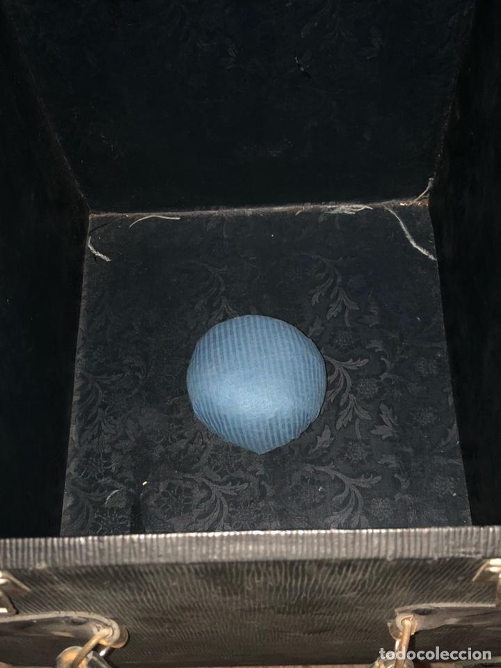 Antigüedades: Precioso baúl o caja antigua años 20 - Foto 3 - 200295891