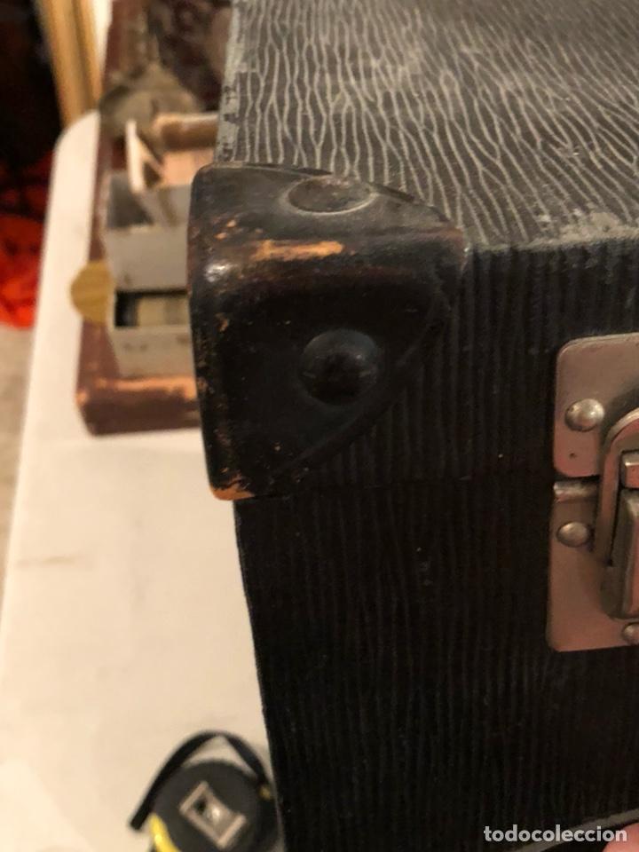 Antigüedades: Precioso baúl o caja antigua años 20 - Foto 7 - 200295891