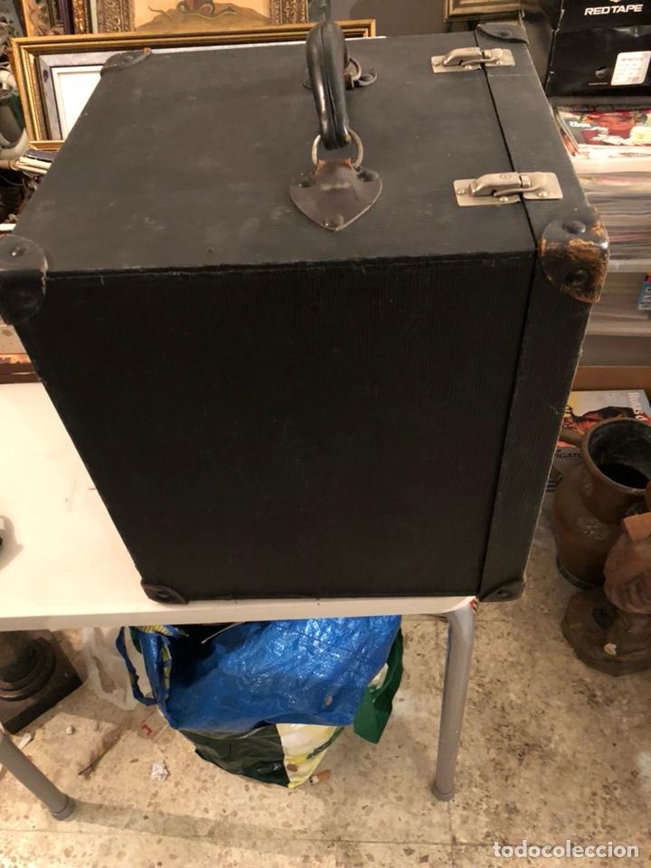Antigüedades: Precioso baúl o caja antigua años 20 - Foto 8 - 200295891
