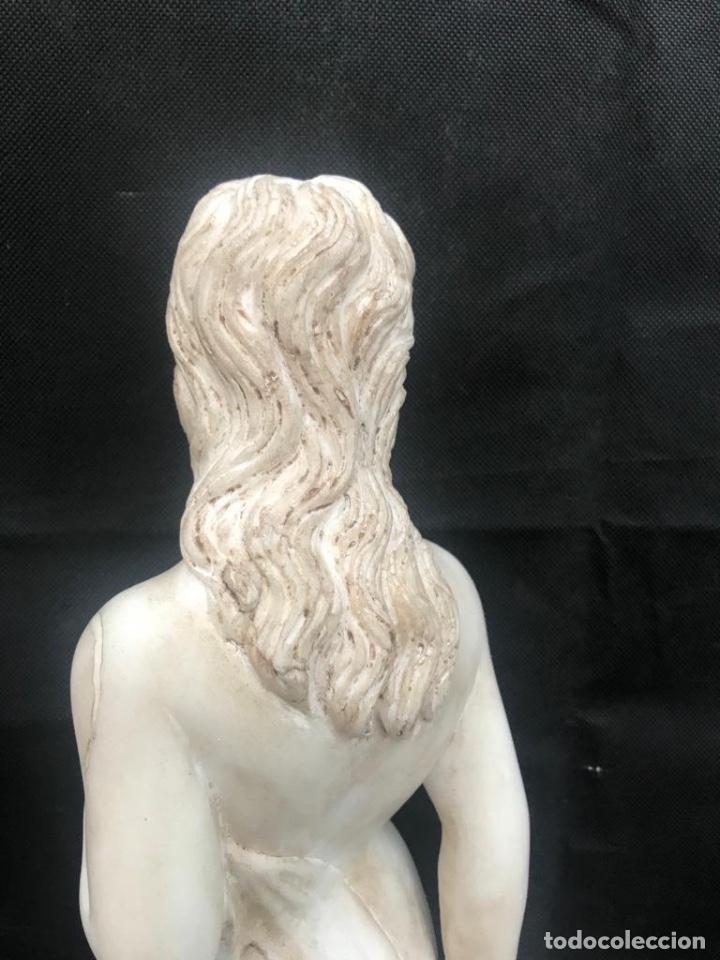 Antigüedades: Talla de mujer en mármol travertino italiano - Foto 4 - 200299858