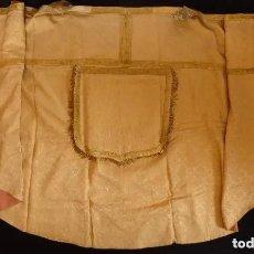 Antigüedades: CAPA PLUVIAL DORADA. Lote 200301610