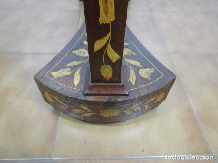 Antigüedades: Protege Chimenea - Sello W.F Greenwod & Sons Ltd, York, Inglaterra - Madera y Marquetería - S. XIX - Foto 25 - 200317068