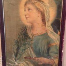 Antigüedades: CUADRO RELIGIOSO. Lote 200371566