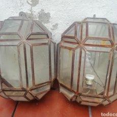 Antigüedades: PAREJA DE APLIQUES. Lote 200377320