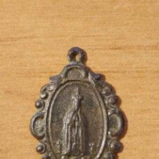Antigüedades: BRO 522 - MEDALLA RELIGIOSA - DELICADOS DETALLES REALIZADA EN COSPEL DE ÉPOCA. Lote 200507748
