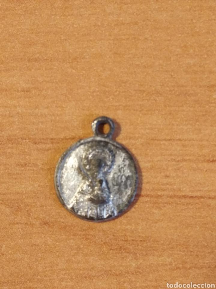 MON 1487 - MEDALLA RELIGIOSA - DELICADOS DETALLES REALIZADA EN COSPEL DE ÉPOCA (Antigüedades - Religiosas - Medallas Antiguas)
