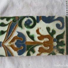 Antigüedades: . AZULEJO MUDEJAR TOLEDO SIGLO XVI. Lote 200514382