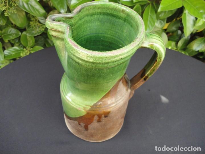 Antigüedades: Alfarería andaluza: Jarra para vino de Ubeda - Foto 5 - 200536983