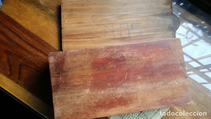 Antigüedades: de madera noble como para dominó y naipes - Foto 4 - 200553585