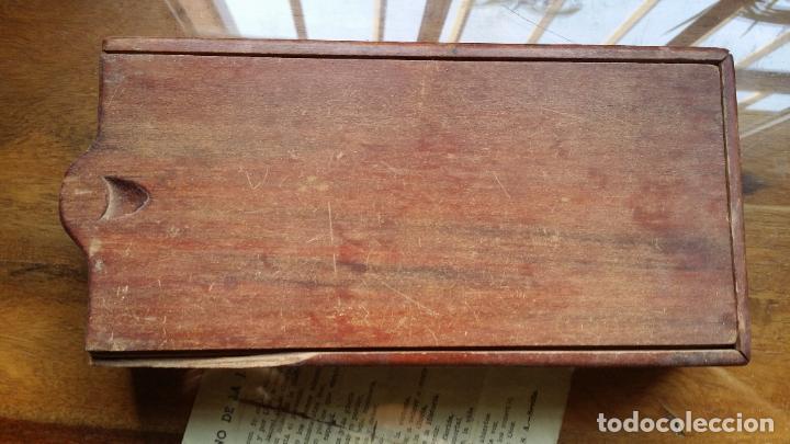 Antigüedades: de madera noble como para dominó y naipes - Foto 5 - 200553585