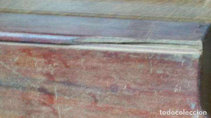 Antigüedades: de madera noble como para dominó y naipes - Foto 6 - 200553585