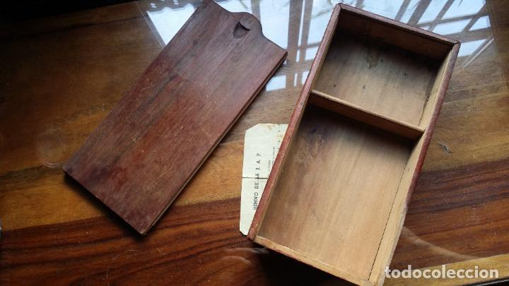 Antigüedades: de madera noble como para dominó y naipes - Foto 7 - 200553585