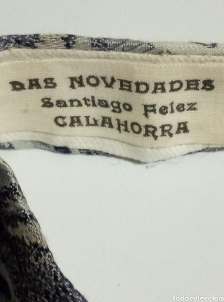Antigüedades: Antigua pajarita seda - Foto 5 - 200582171