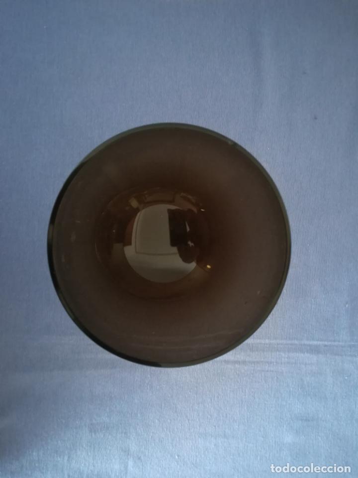 Antigüedades: Copa de cristal de Murano de los años 80, altura 20 cm (con 2 chips) - Foto 7 - 200589661